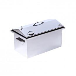 Коптильня Smoke-House: 520x300x310, с термометром, домик, нерж 1.5 мм