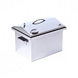 Коптильня Smoke-House: 400х300х310, с термометром, домик, нерж 1.5 мм