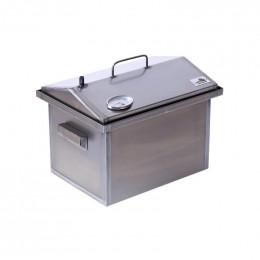 Коптильня Smoke-House: 400х300х310, с термометром, домик, сталь 1.5 мм