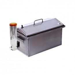 Коптильня з димогенератором Smoke House: 520х300х320, сталь 1.5 мм