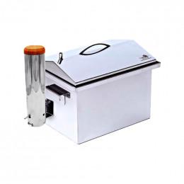 Коптильня з димогенератором Smoke House: 400х300х320, нерж 1.5 мм