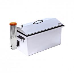 Коптильня з димогенератором Smoke House: 520х300х320, нерж 1.5 мм
