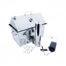 Коптильня з димогенератором Коптілов: 530х330х450, нерж 1.5 мм
