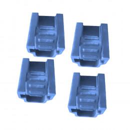 Комплект (4 шт) зажимів для соскової гуми