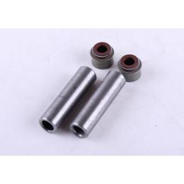 Направляющие клапанов с сальниками (на 2 клапана) - 186F - Premium