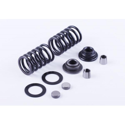 Клапанный механизм комплект (пружины, тарелки, сухари...) на 2 кл. - 186F для мотоблока