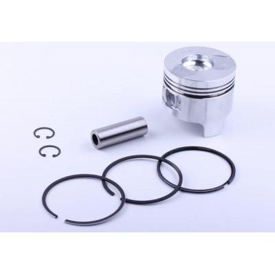 Поршневой комплект 86,0 mm STD (тупой конус форкамеры) - 186F для мотоблока