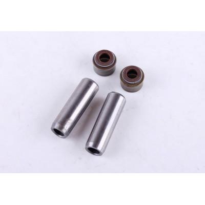 Направляющие клапанов с сальниками (на 2 кл.) - 178F - Premium для мотоблока