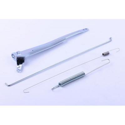 Рычаг привода дроссельной заслонки (с тягой и пружиной) - 188F для мотоблока