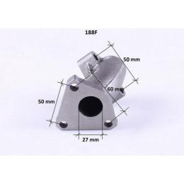 Колено глушителя - 188F