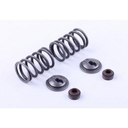Клапанный механизм комплект (пружины, тарелки, сальн.клап.) на 2 кл. - 188F