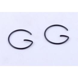 Кольца стопорные пальца поршневого (2 шт.) - 188F
