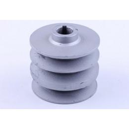 Шків ременя провідний 3 струмка (поcадочн. Ø20mm) - 168F