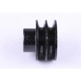 Шків ременя 2 струмка під колінвал Ø25mm (тип 2) - 177F