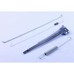 Рычаг привода дроссельной заслонки (с тягой и пружиной) - 177F