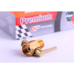 Кран головки слива охлаждающей жидкости Ø13 mm - 180N - Premium
