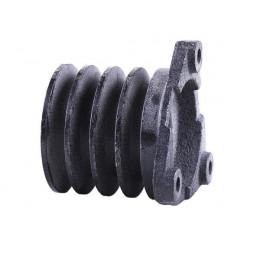 Шків ременя 4-х струмкова Ø100mm - 180N