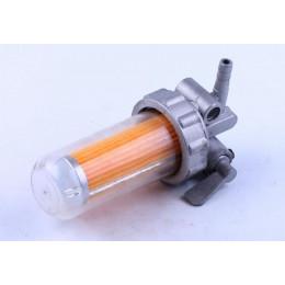 Кран топливный (стакан пластиковый) - 180N