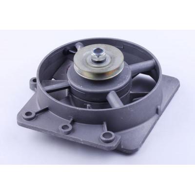 Вентилятор в сборе с генератором (1GZ90) - 195N для мотоблока