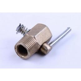 Кран головки слива охлаждающей жидкости - 195N