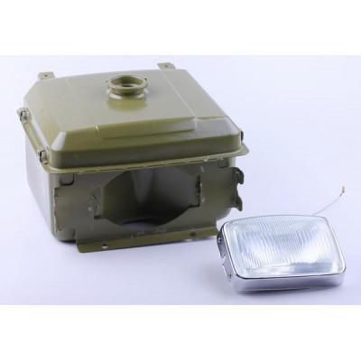 Бак топливный + фара - GZ - 195N для мотоблока