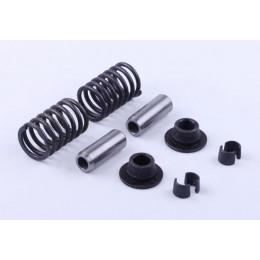 Клапанный механизм, к-т на 2 клапана: 10 элементов - Zubr - 195N
