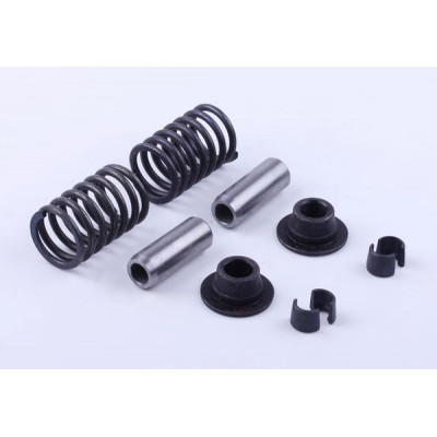 Клапанный механизм, к-т на 2 клапана: 10 элементов - Zubr - 195N для мотоблока