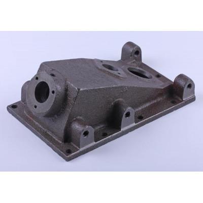 Крышка верхняя корпуса КПП (2 отверстия) - КПП/6 редуктора мотоблока