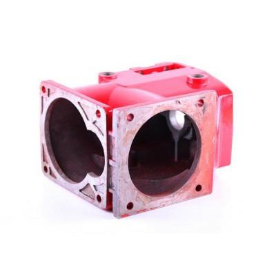 Корпус коробки (под один ВОМ) - КПП редуктора мотоблока