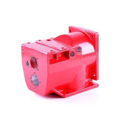 Корпус коробки (под два ВОМ) - КПП редуктора мотоблока