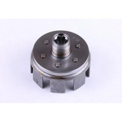 Корзина сцепления пустая (под шлицы Ø25mm) - КПП редуктора мотоблока