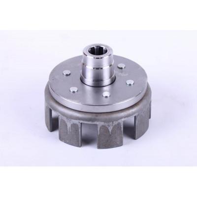 Корзина сцепления пустая (под шлицы Ø20mm) - КПП редуктора мотоблока