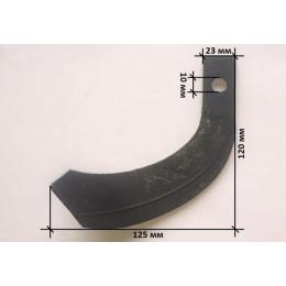 Нож фрезы левый 200gr 120*125mm - RF