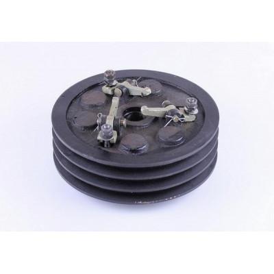 Сцепление в сборе 3 ручья 2 диска (мототрактор) - MFC