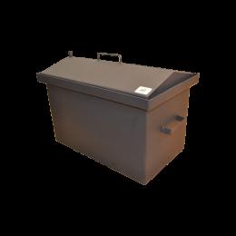 Коптильня Hot Smoking: 520х310х330, крышка домик, термокраска, сталь 2 мм