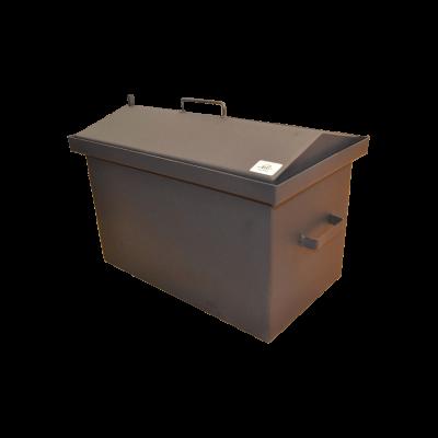 Коптильня Hot Smoking: 520х310х330, кришка домик, термофарба, сталь 2 мм