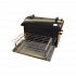 Коптильня Hot Smoking: 510х320х330, крышка круглая, термокраска, 1.5 мм