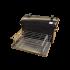 Коптильня Hot Smoking: 510х320х330, кришка кругла, термофарба, сталь 2 мм