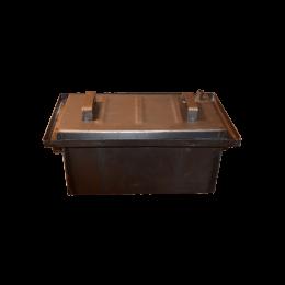 Коптильня Hot Smoking: 470х270х200, крышка плоская, сталь 1 мм