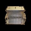 Коптильня с гидрозатвором: 520х310х280, крышка плоская, сталь 1.5 мм