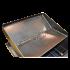 Коптильня Hot Smoking: 420х340х270, кришка плоска, сталь 2 мм