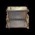 Коптильня Hot Smoking: 500х300х300, кришка домик, сталь 1.5 мм