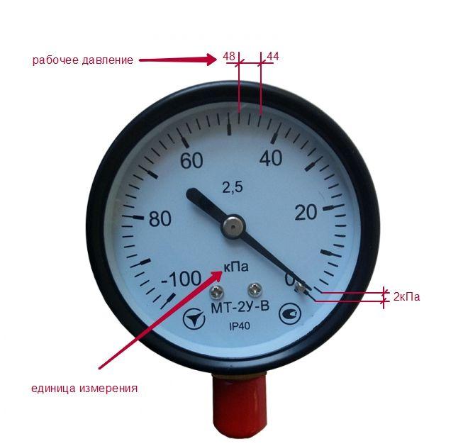 вакууметр